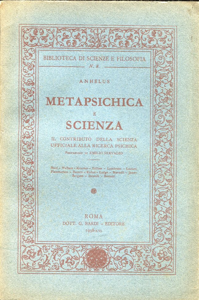 Metapsichica e scienza