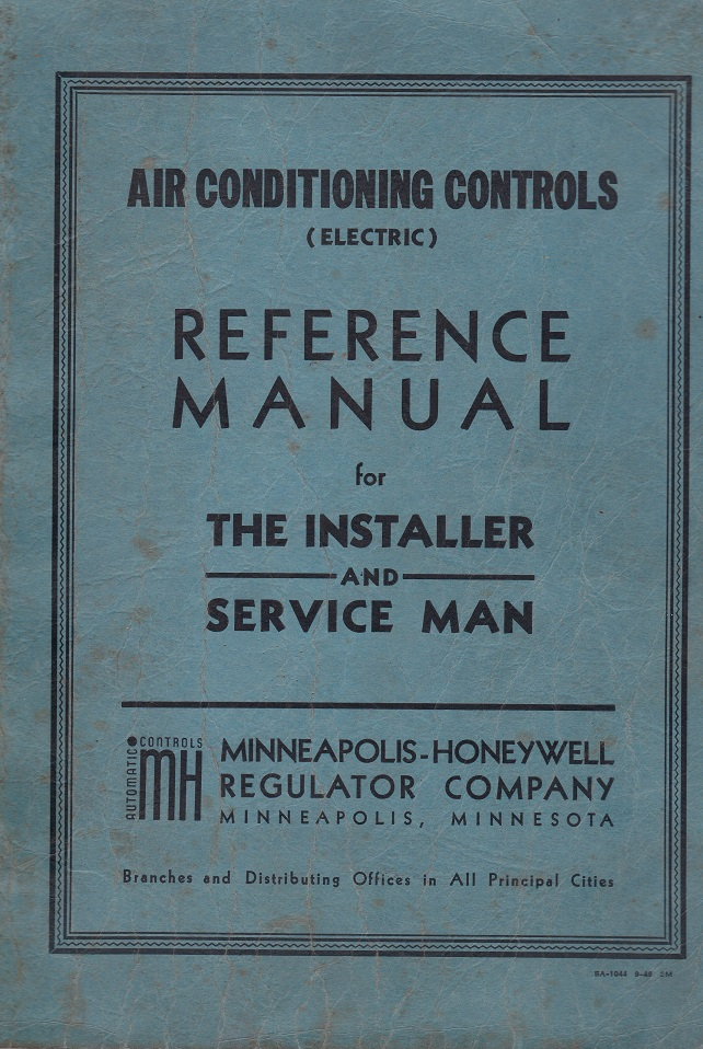 AIR CONDITIONING CONTROLS (electric) REFERENCE MANUAL FOR THE INSTALLER AND SERVICE MAN