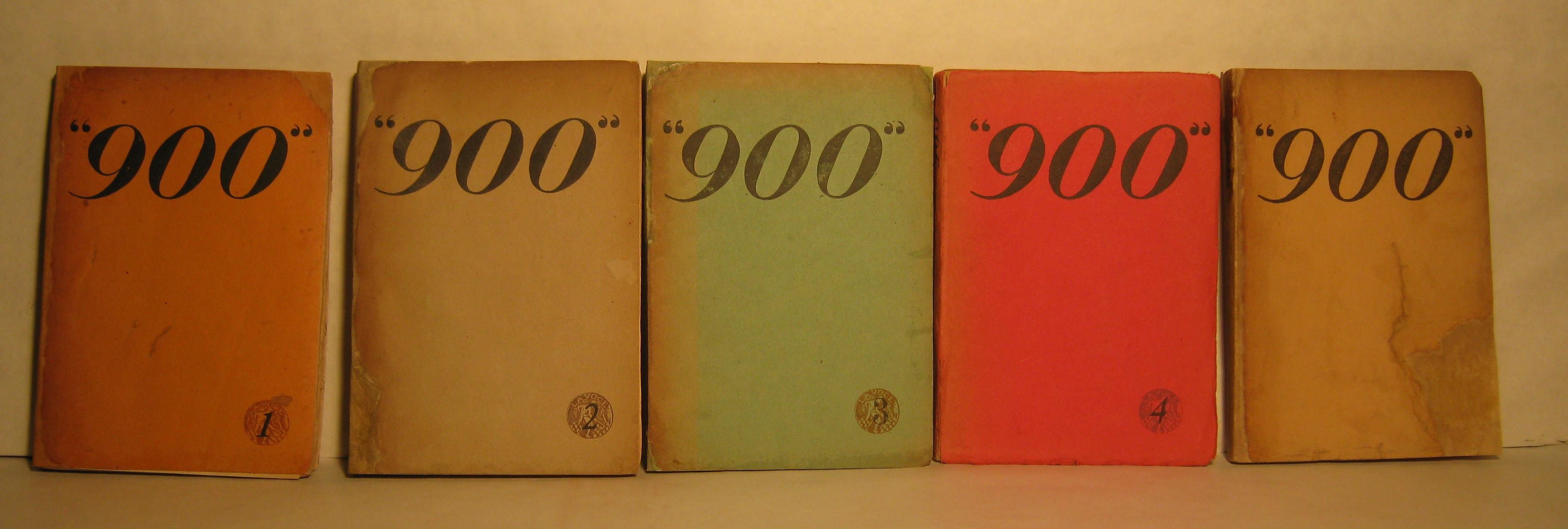 """""""900"""", Cahiers d'Italie et d'Europe"""